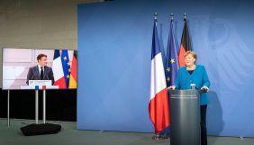Макрон і Меркель закликали звільнити Протасевича і Сапегу та провести нові вибори у Білорусі