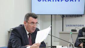 Данілов: Захоплення літака Ryanair у Білорусі має всі ознаки операції російських спецслужб