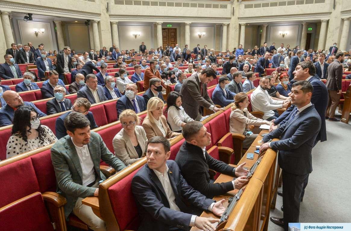 Парламент прийняв у першому читанні проєкт щодо регулювання зовнішньої реклами