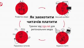 11 червня – тренінг від LIGA.net для регіональних медіа «Як заохотити читачів платити»