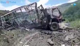 В Азербайджані автомобіль з журналістами підірвався на міні, троє загиблих