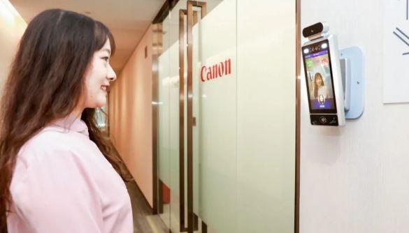 Canon встановила в офісах камери зі штучним інтелектом, які пропускають тільки усміхнених працівників