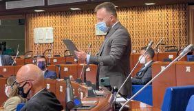 Нардеп-антивакцинатор Камельчук виступив у ПАРЄ з промовою щодо COVID-паспортів