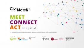 До 29 червня — реєстрація на міжнародний онлайн-нетворкінг Civil Match 2.0