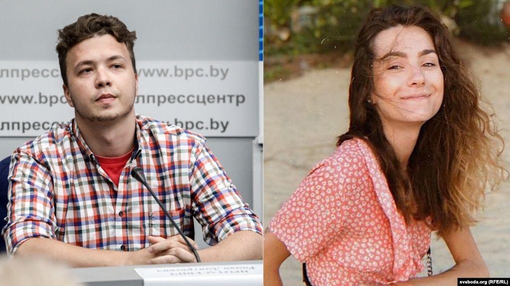 Романа Протасевича та Софію Сапегу помістили під домашній арешт (ОНОВЛЕНО)