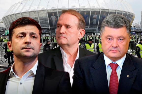 Зеленський вважає, що Порошенко й Медведчук заробляли на війні
