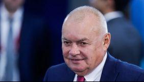 Російського пропагандиста Кисельова госпіталізували з коронавірусом