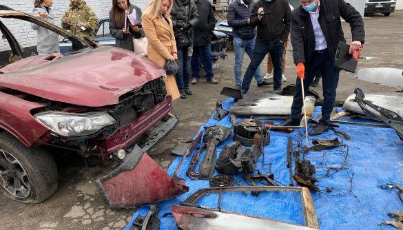 Прокурор оприлюднив висновки вибухотехнічної експертизи у справі Шеремета