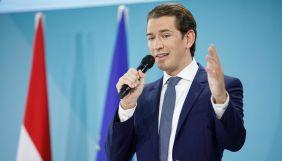 Австрійський канцлер оголосив про відставку на тлі корупційного скандалу зі ЗМІ