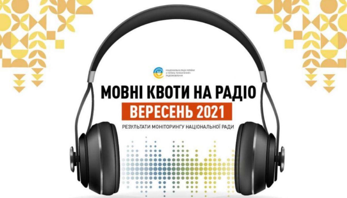 Найнижча частка пісень українською на радіо «Шансон» та «П'ятниця», – Нацрада