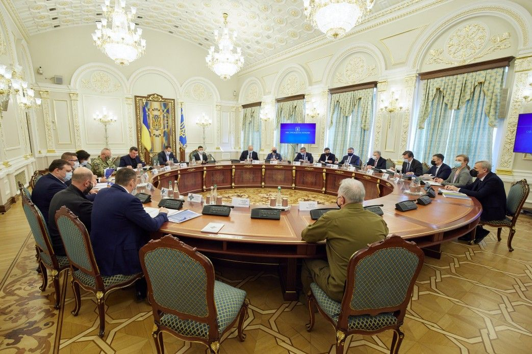 Зеленський скликає засідання РНБО